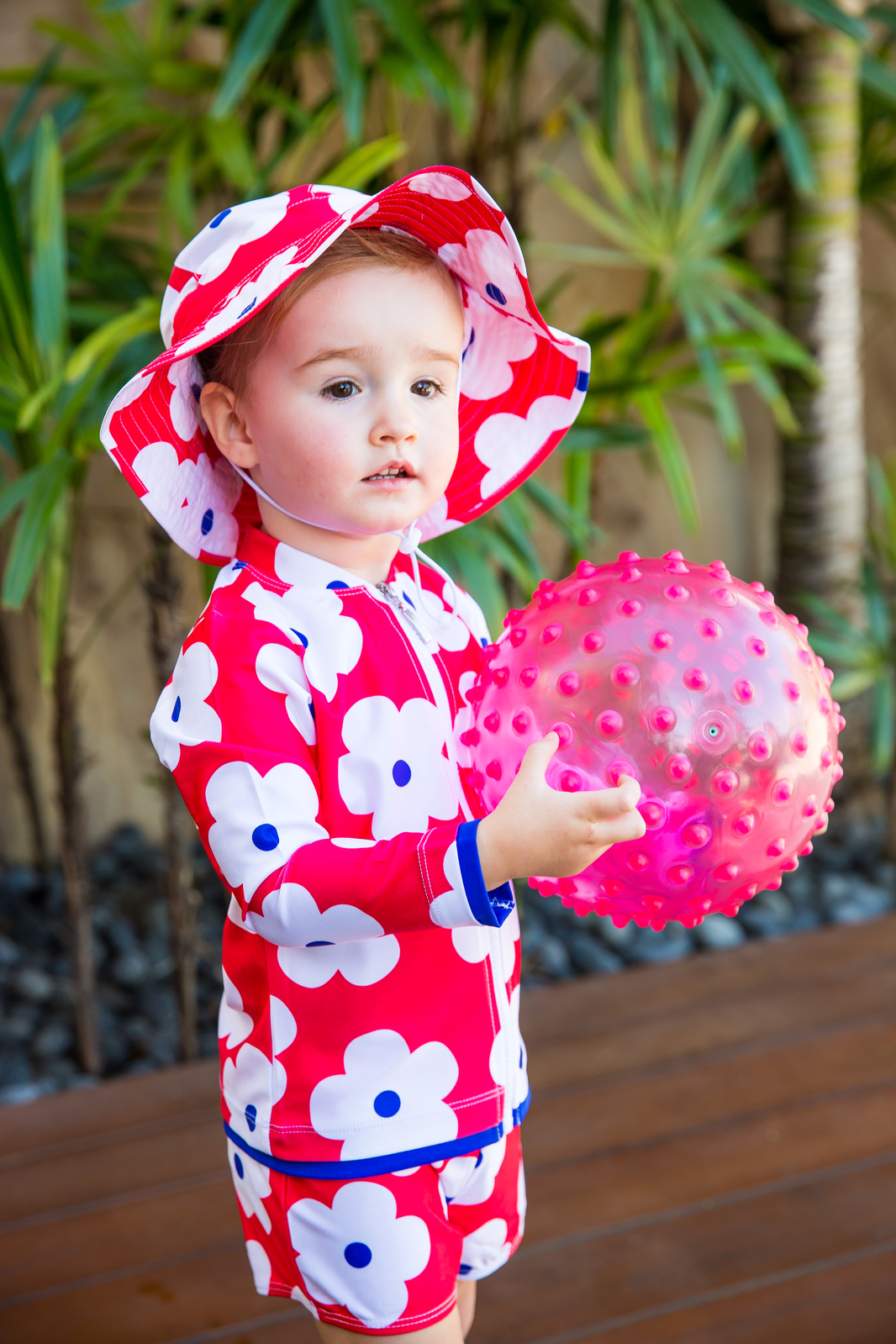 Red Flower Girls Bundle