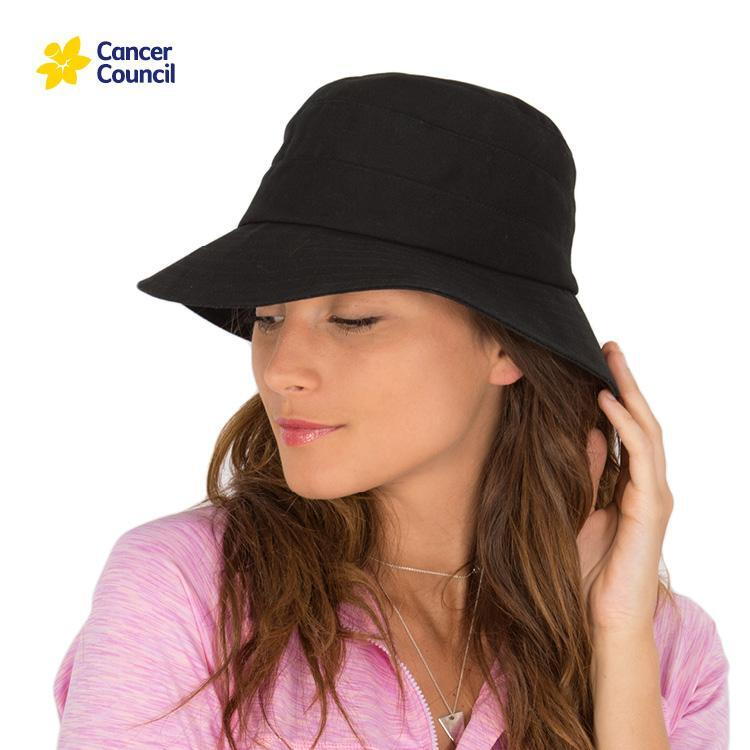 Ladies Golf Bucket Hat (Cancer Council)